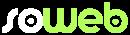 logo soweb bianco e verde no payoff